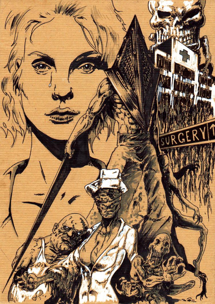 DND Paris : Silent Hill by emalterre