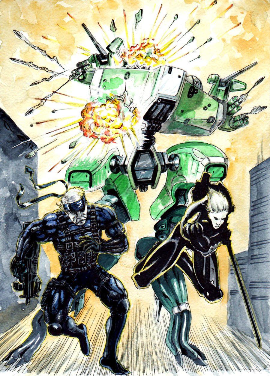 DND Paris : Metal Gear Solid by emalterre