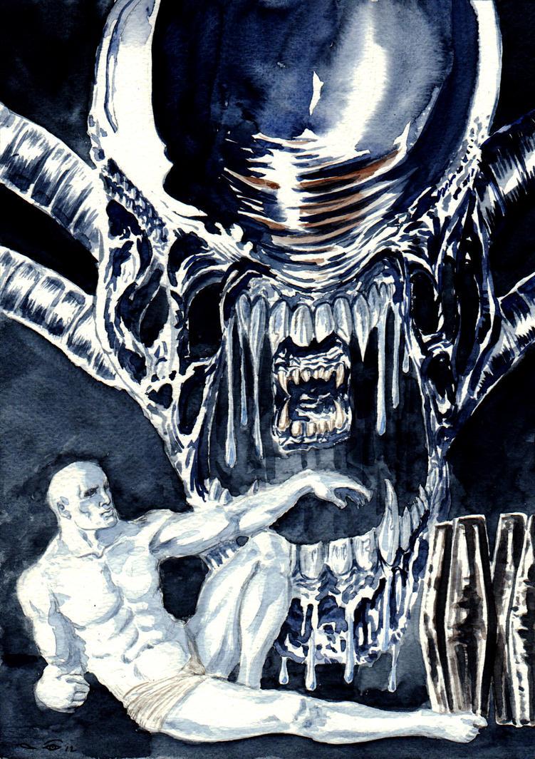 DND Paris Prometheus - Alien Universe by emalterre