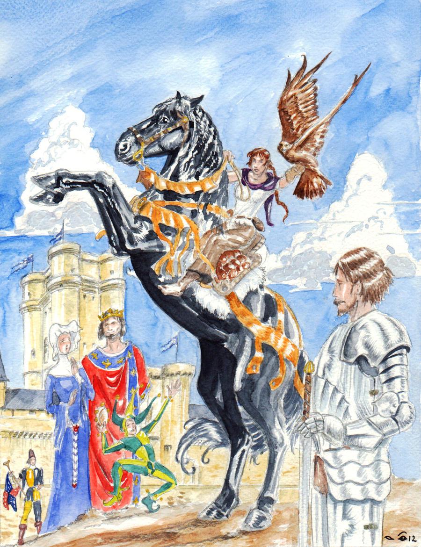 DND Paris : European feudal court by emalterre