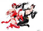 DND Paris : Marvel Villains VS DC Villains 02 by emalterre