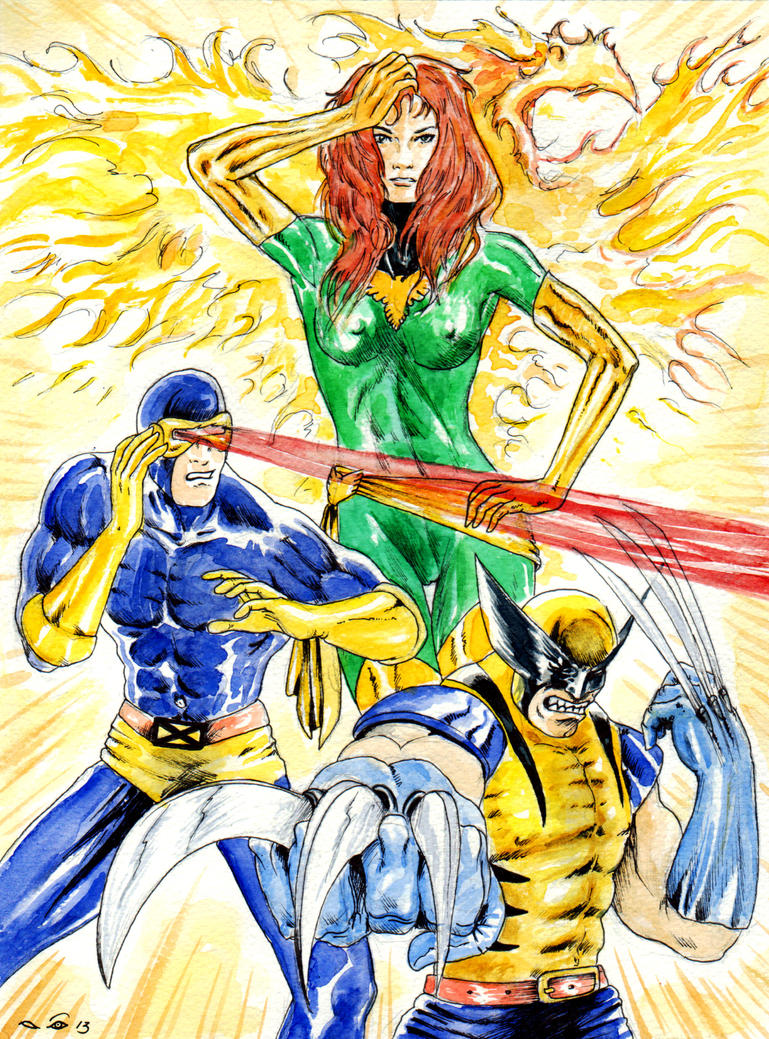 DND Paris : Uncanny X-Men by emalterre