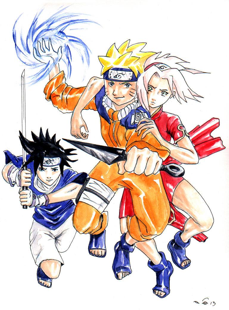 DND Paris : Naruto by emalterre