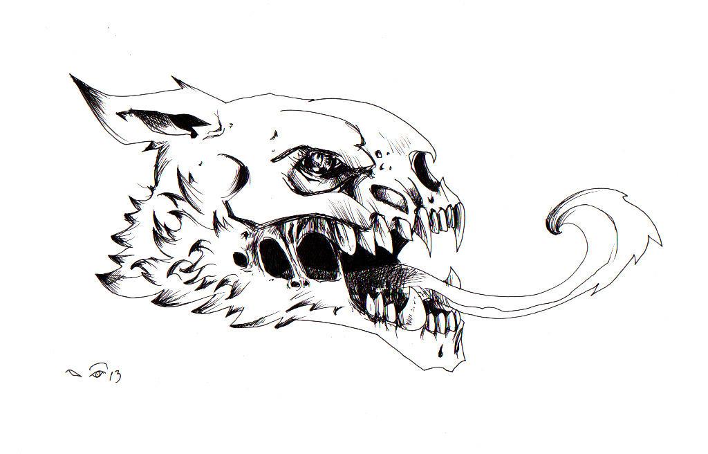 Skull by emalterre