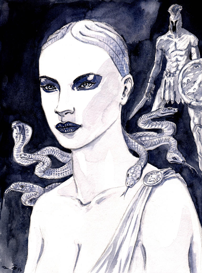 DND Paris : Medusa antique by emalterre