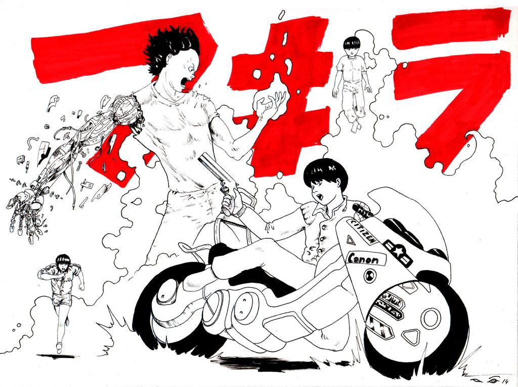 DND Paris : Akira by emalterre