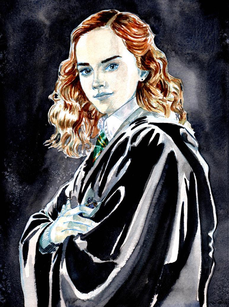 DND Paris : Harry Potter Hermione Granger by emalterre