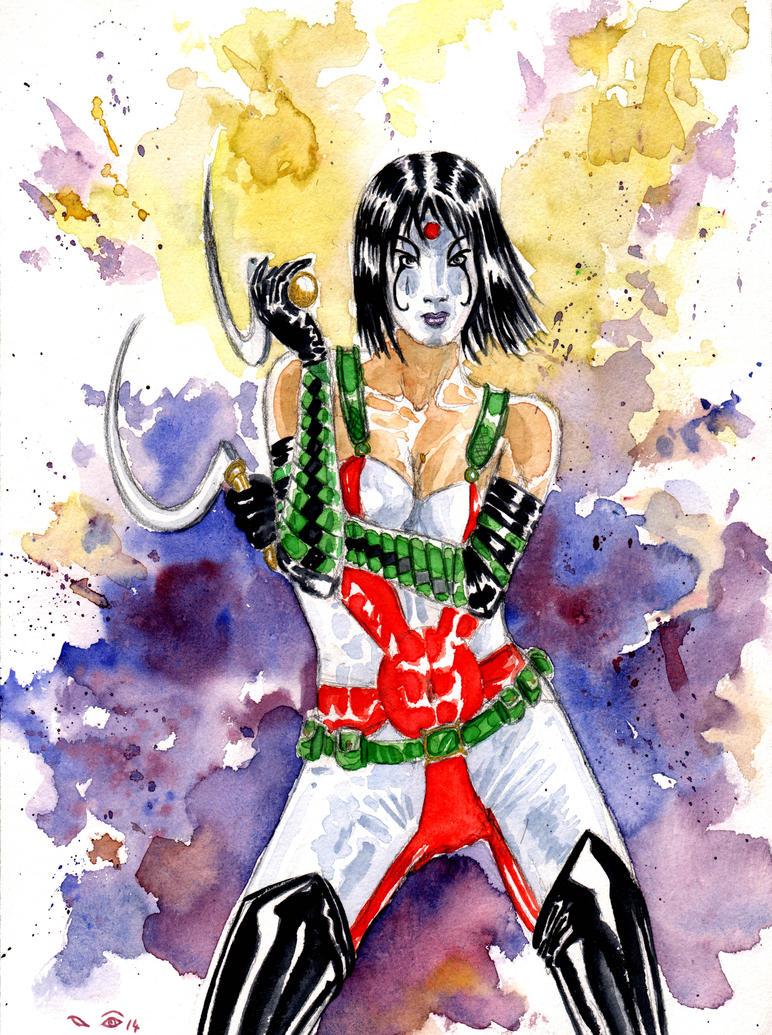 DND Paris : Kabuki by emalterre