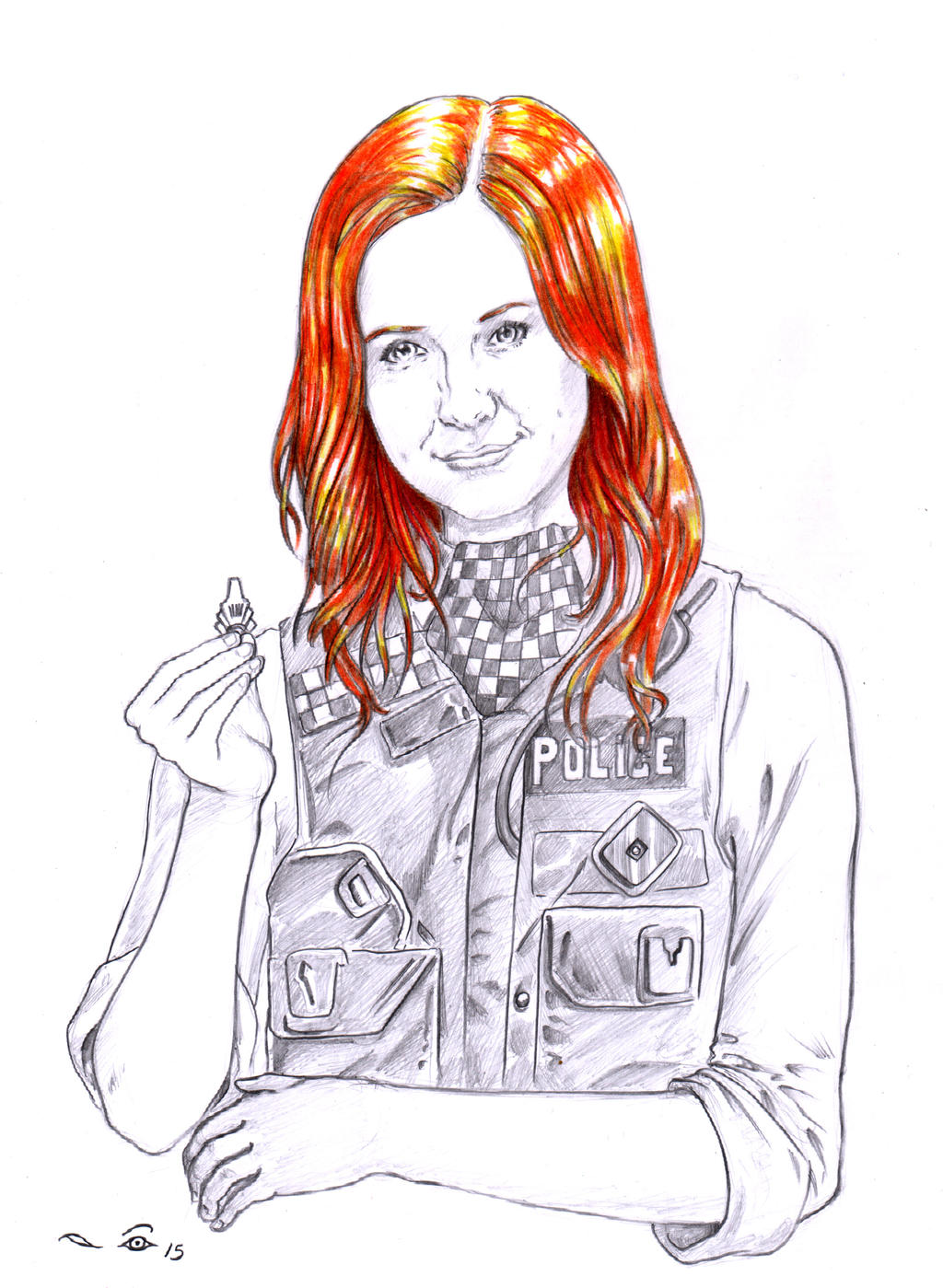 Amy Pond by emalterre