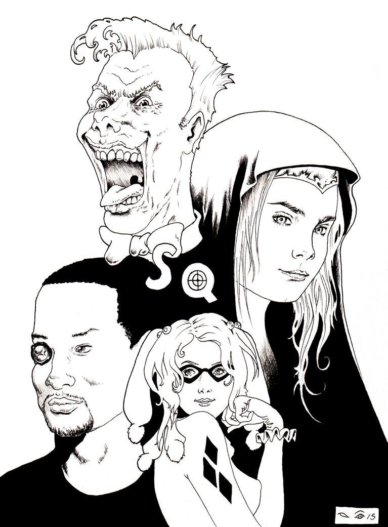 DND Paris : Suicide Squad by emalterre
