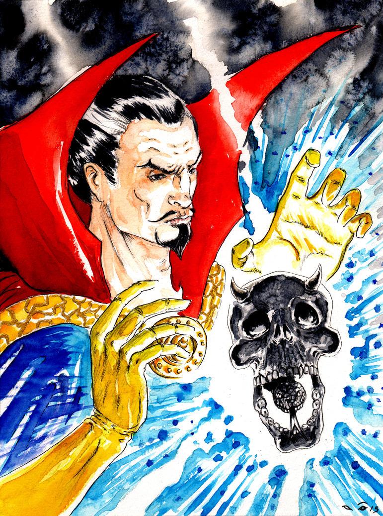 DND Paris : Doctor Strange by emalterre