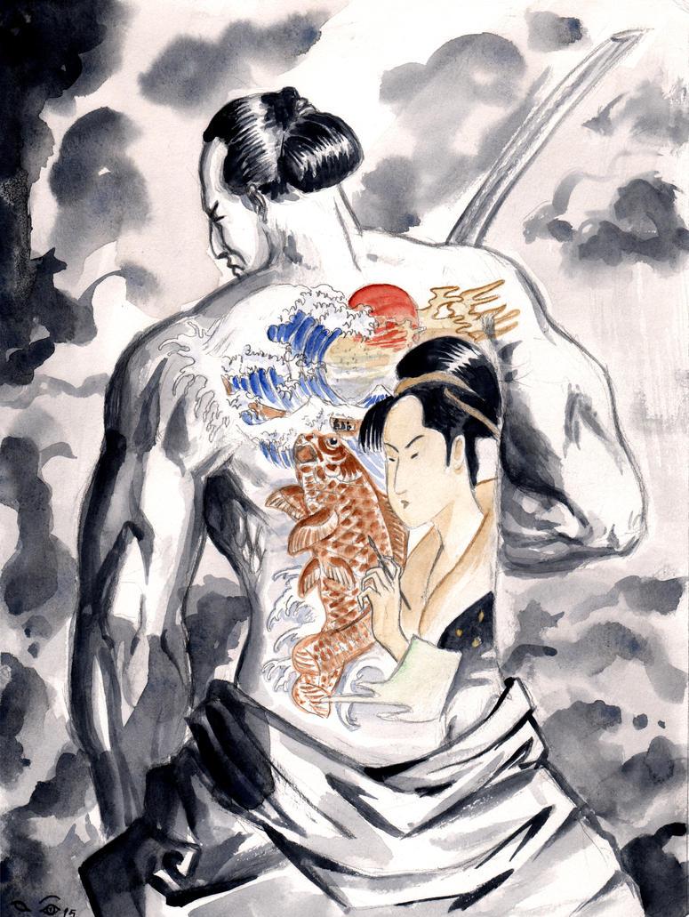 DND Paris : Hokusai by emalterre