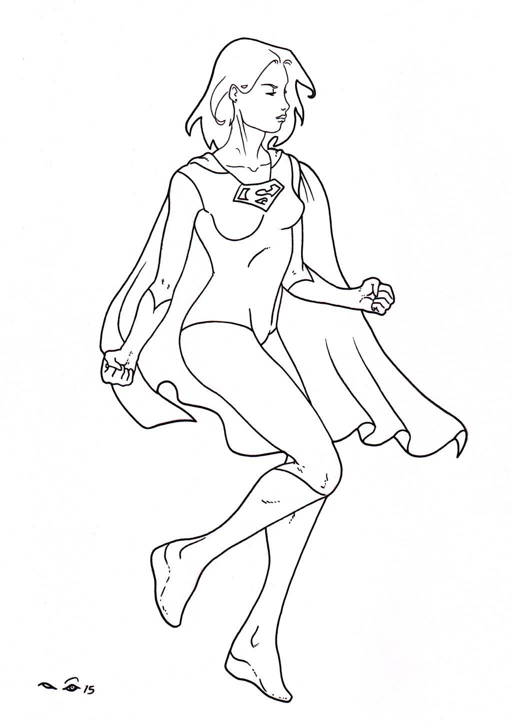 Supergirl by emalterre