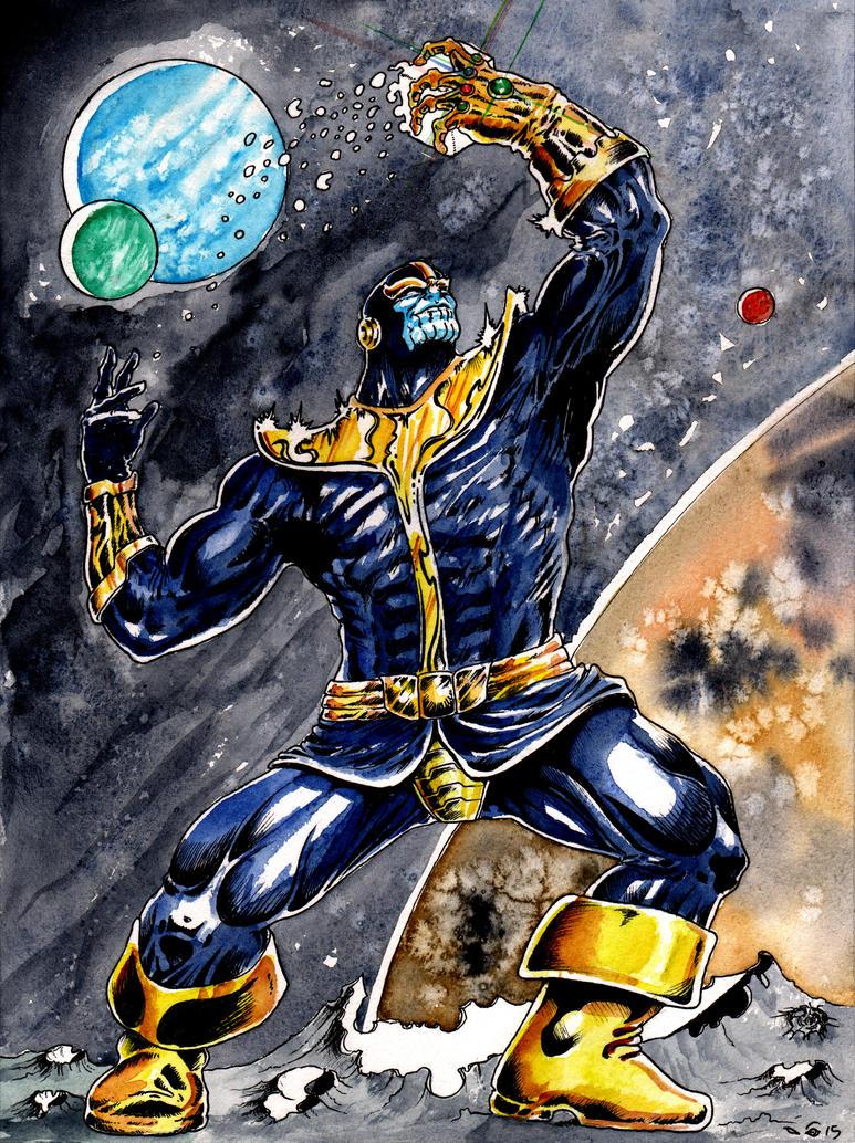 DND Paris : Thanos by emalterre