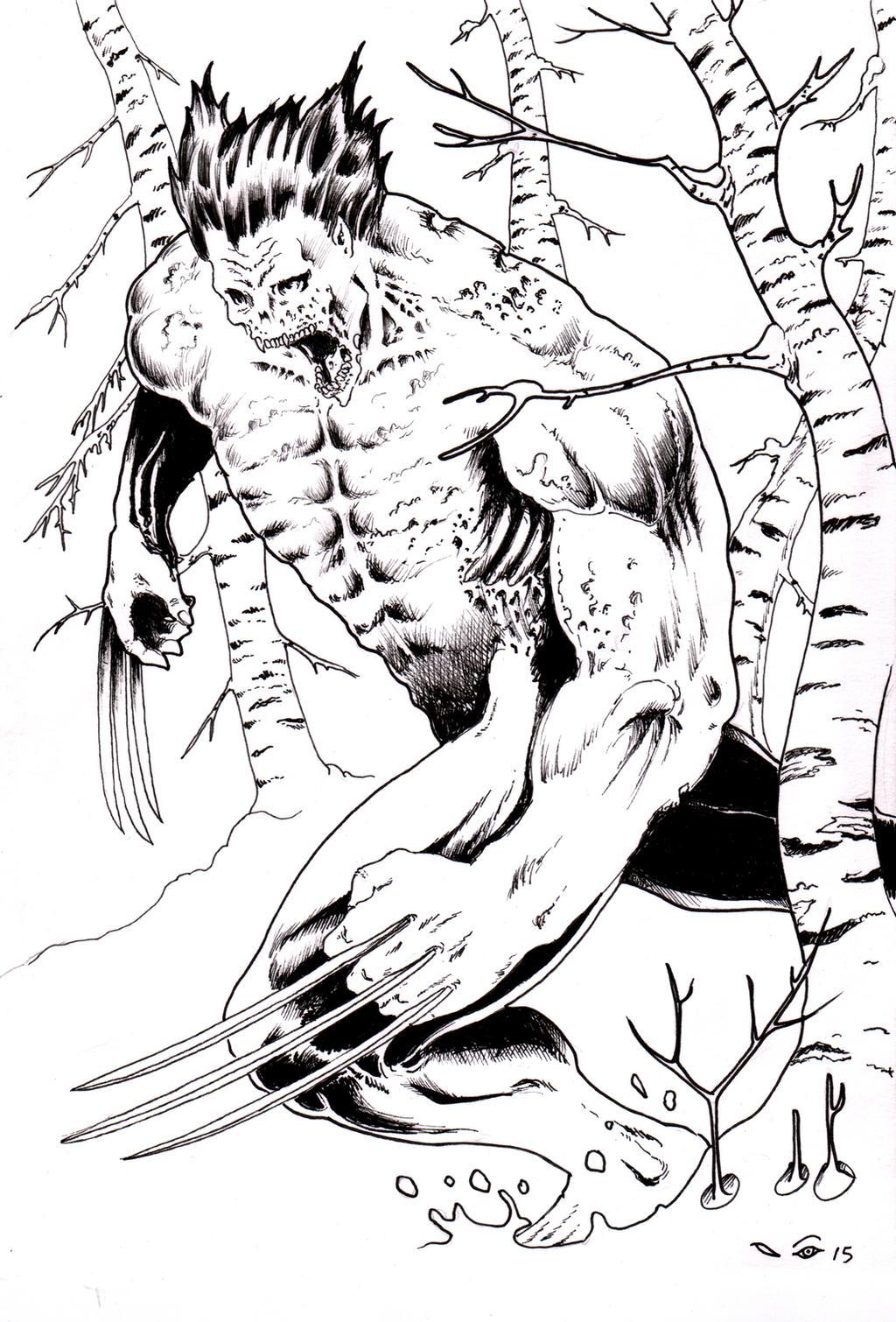 DND Paris : Wolverine by emalterre