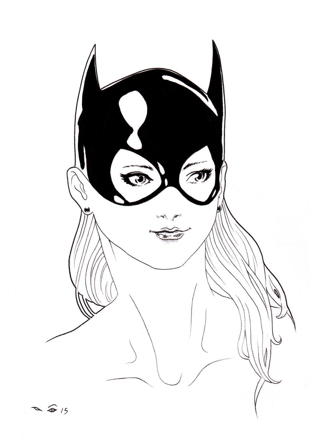 DND Paris: Batgirl by emalterre