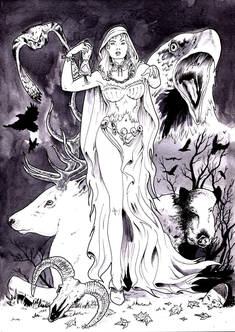 DND PARIS : WHITE LADY by emalterre