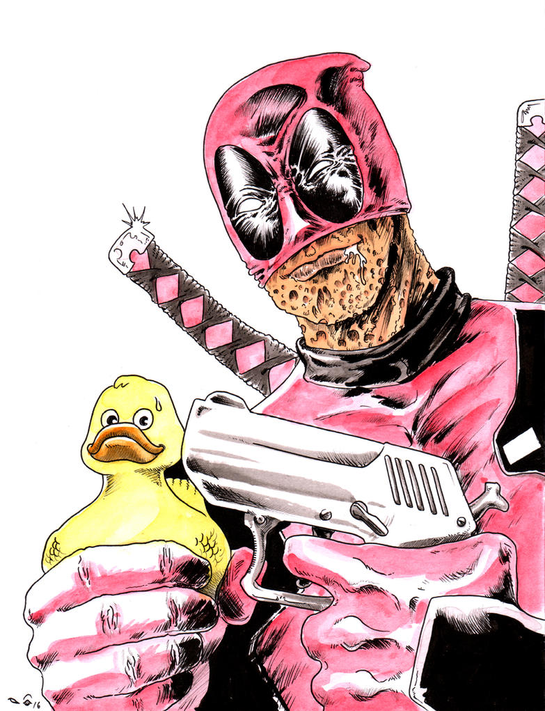 Deadpool by emalterre