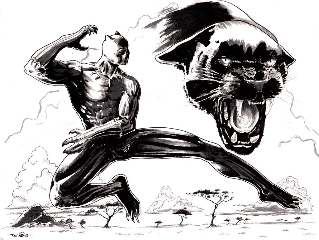 Black Panther by emalterre