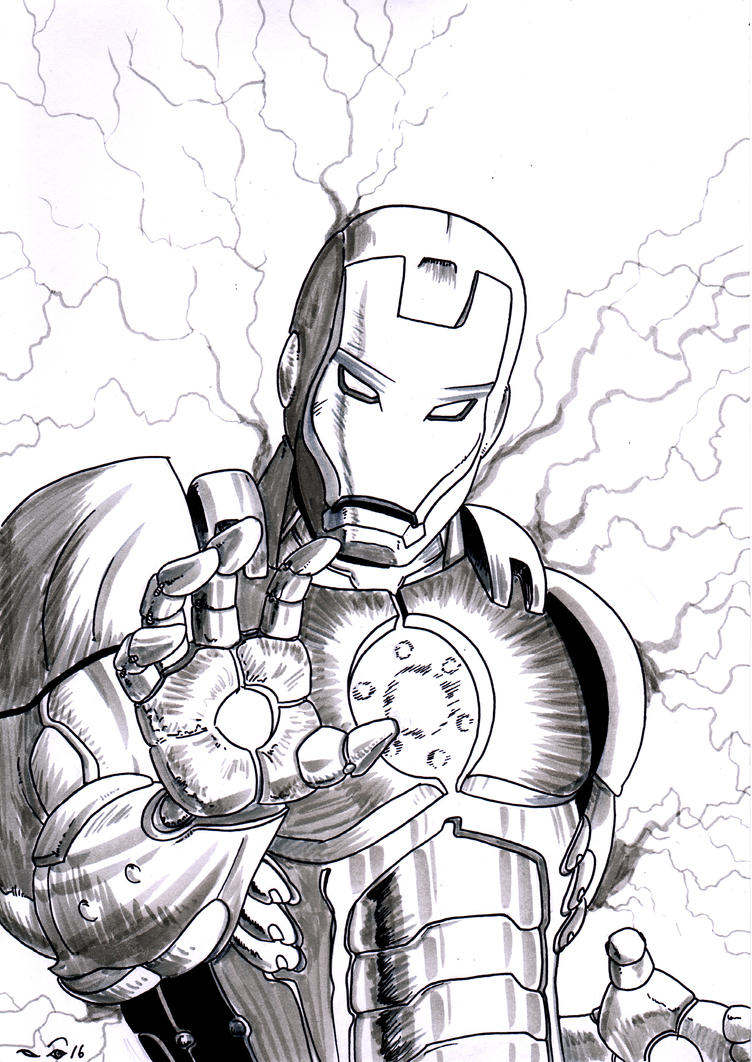 IronMan's thunder by emalterre