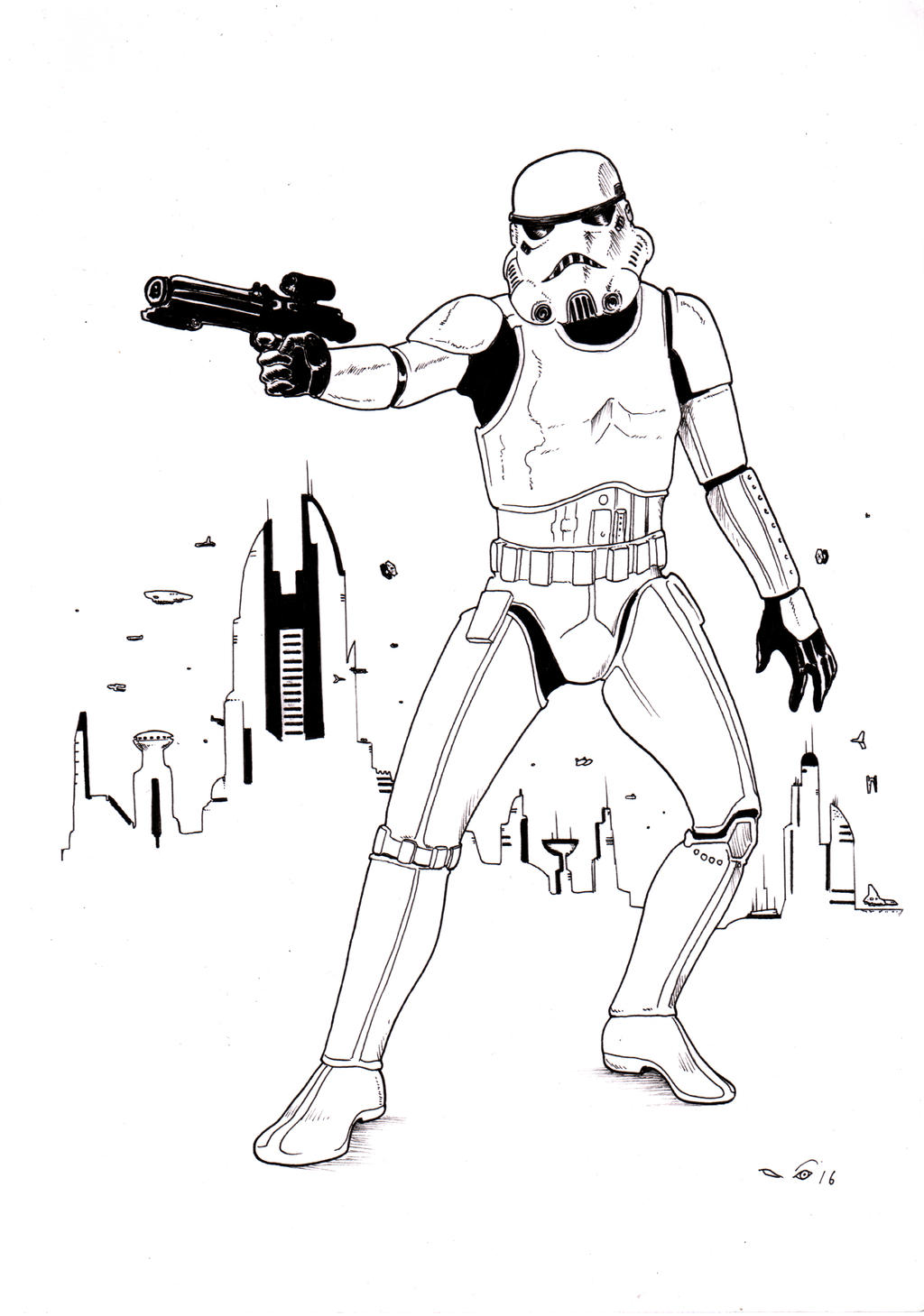 Stormtrooper by emalterre