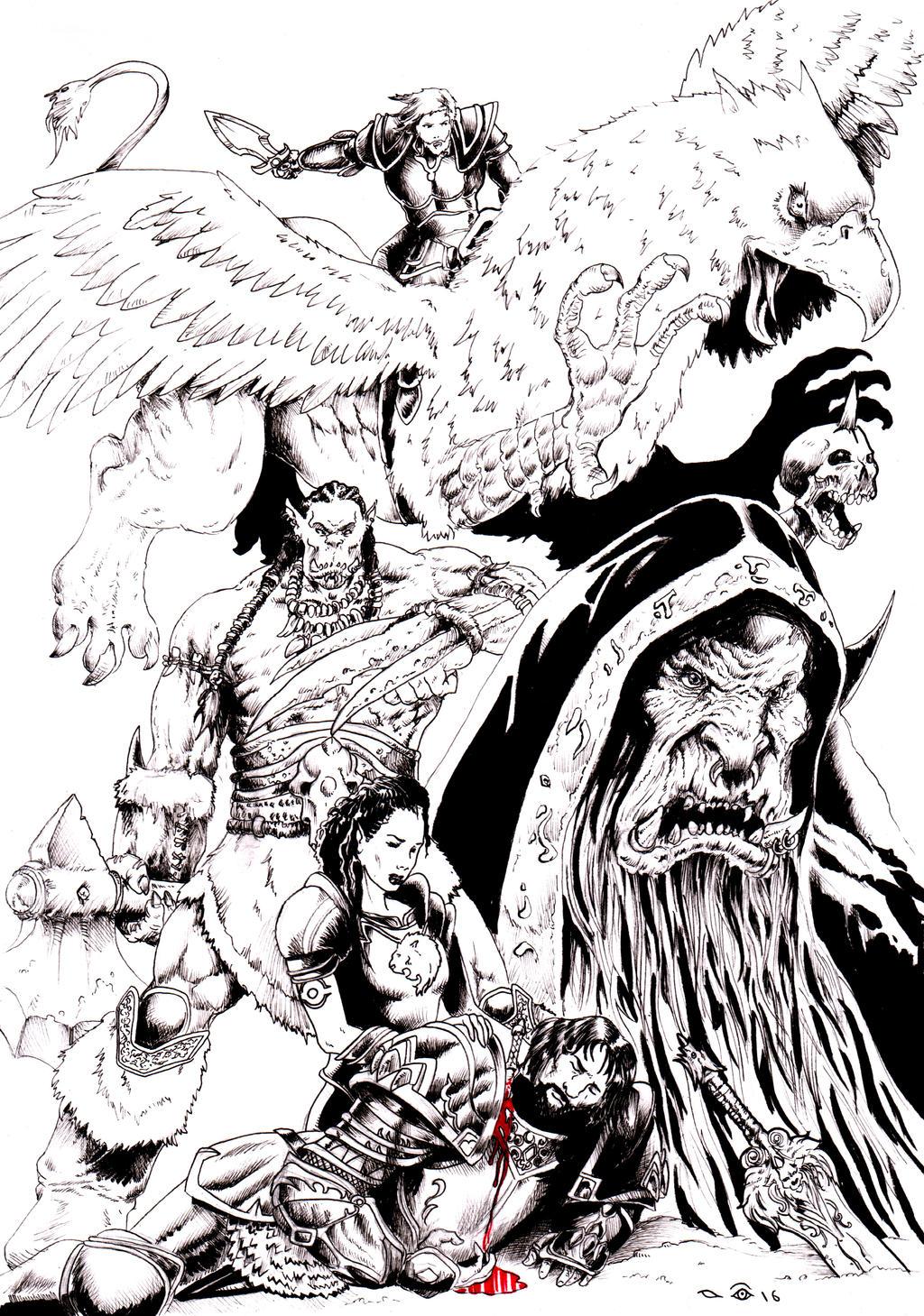 Warcraft by emalterre