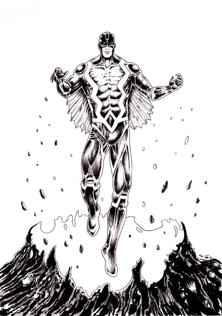 Inhumans : Black Bolt by emalterre