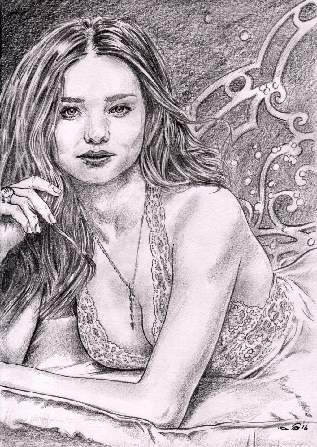 Miranda Kerr by emalterre