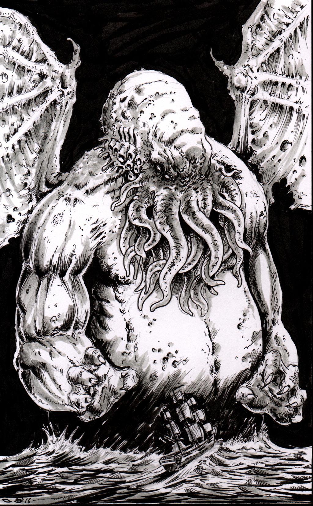 Big Cthulhu by emalterre
