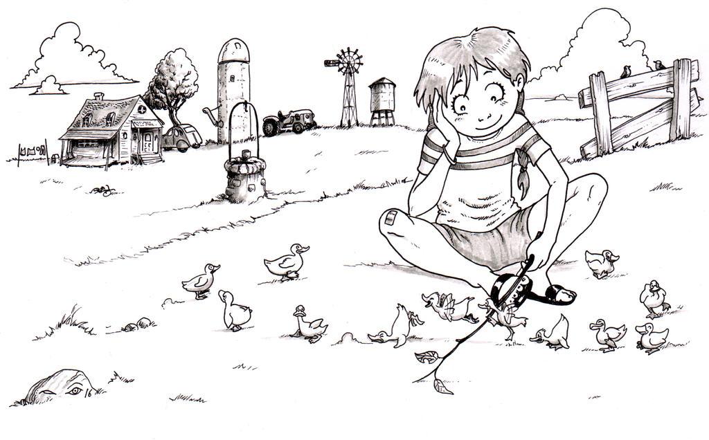 One Dozen Ducks by emalterre