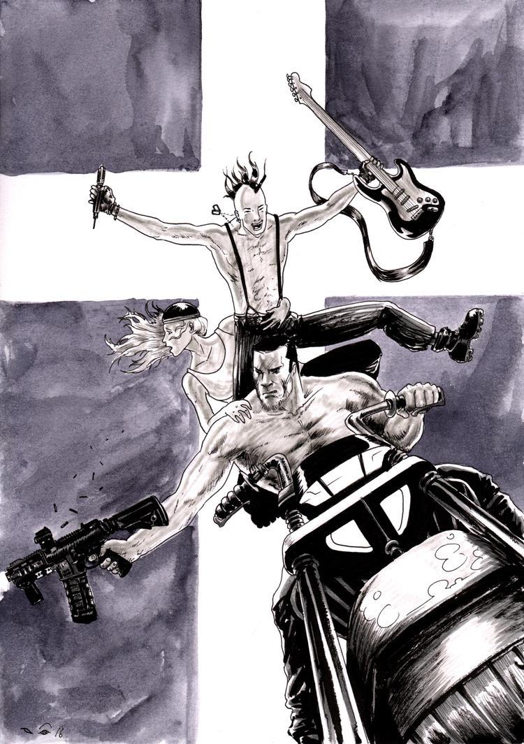 Punk Rock Jesus by emalterre
