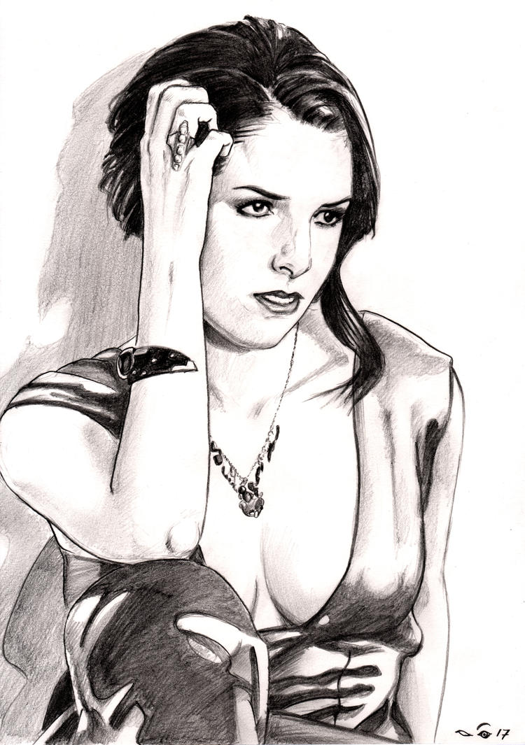Anna Kendrick by emalterre