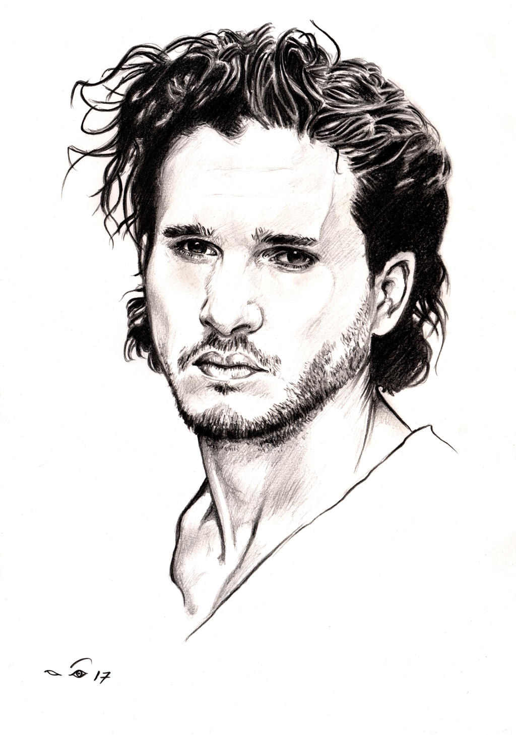 Kit Harington by emalterre