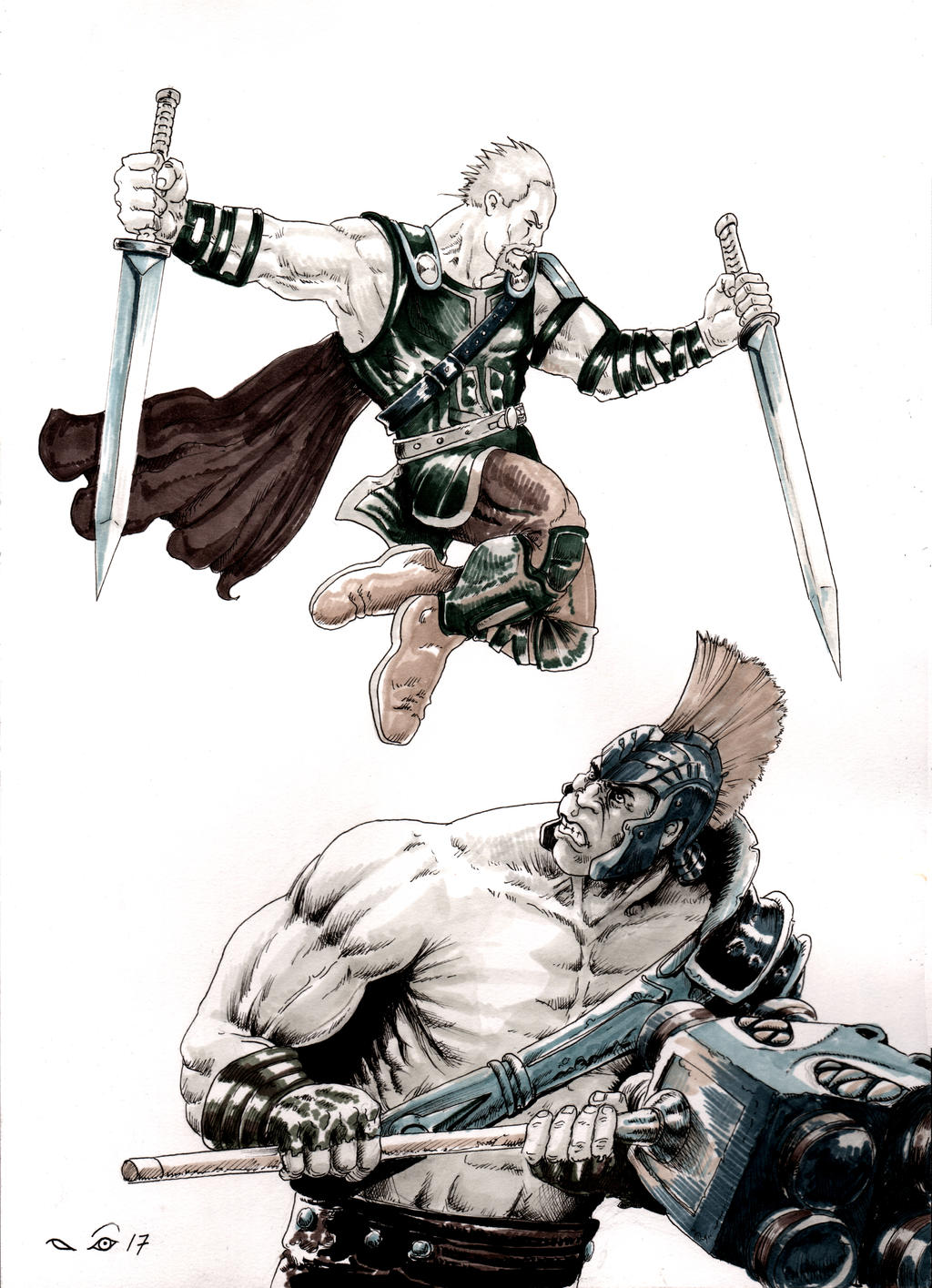 Thor Ragnarok by emalterre