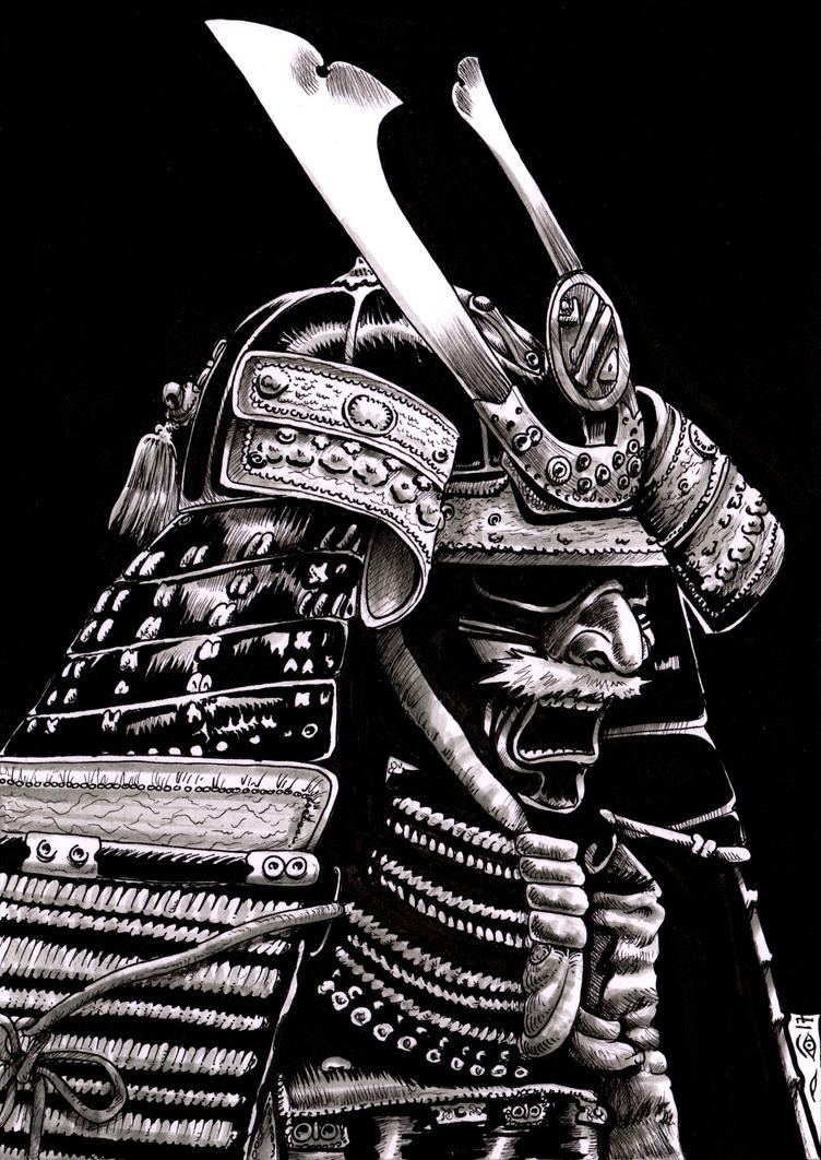 Mask of the Samurai by emalterre