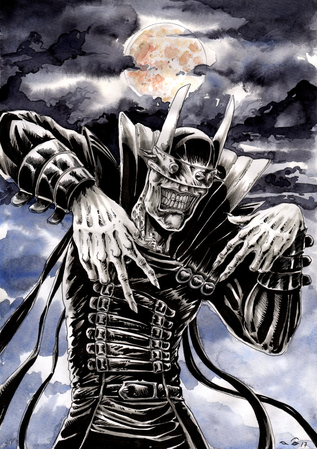 Batman Who Laughs by emalterre
