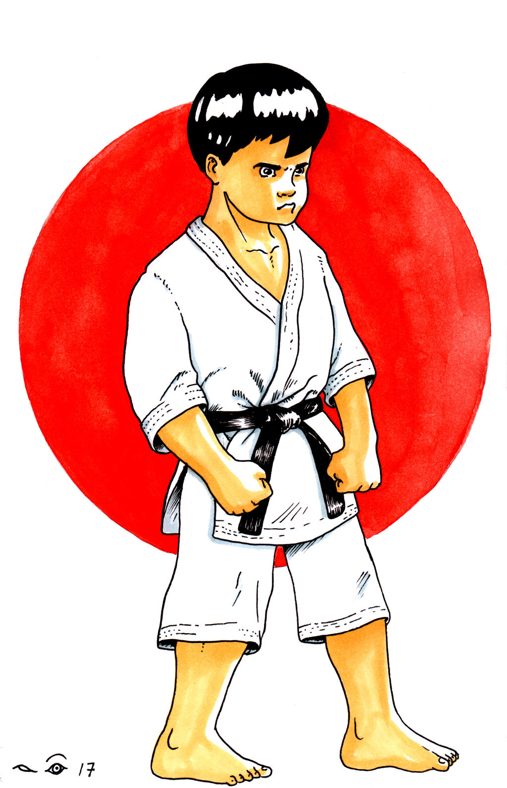 Karate Attitude by emalterre