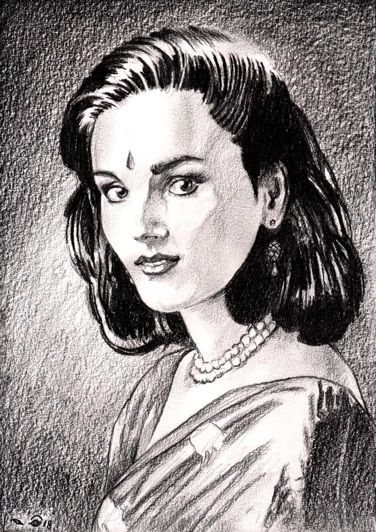 Neerja Bhanot by emalterre