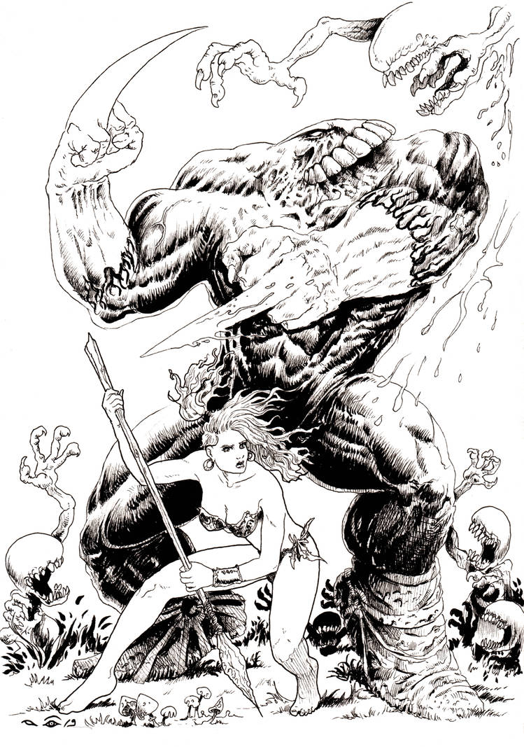 The Maxx (inked) by emalterre
