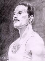 Freddie Mercury by emalterre