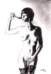 Audrey Poincet by emalterre