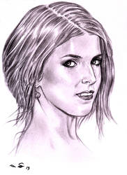 Anna Kendrick, Earrings by emalterre