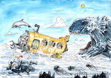 LRR_Yellow submarine by emalterre