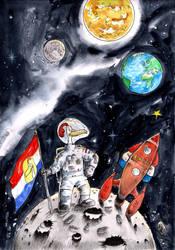 LRR_Dutch astronaut by emalterre