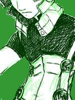 Gale Tegaki-E Green by jameson9101322