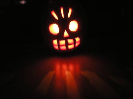 Manny Calavera Pumpkin
