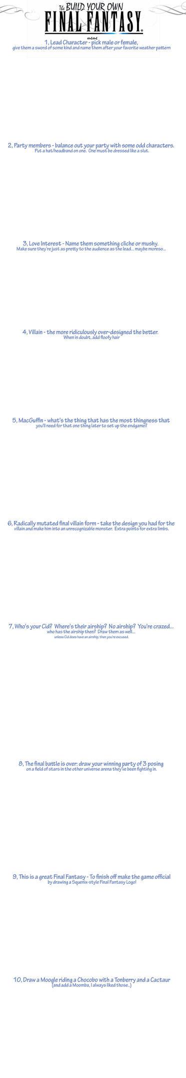 Build a Final Fantasy Meme by jameson9101322
