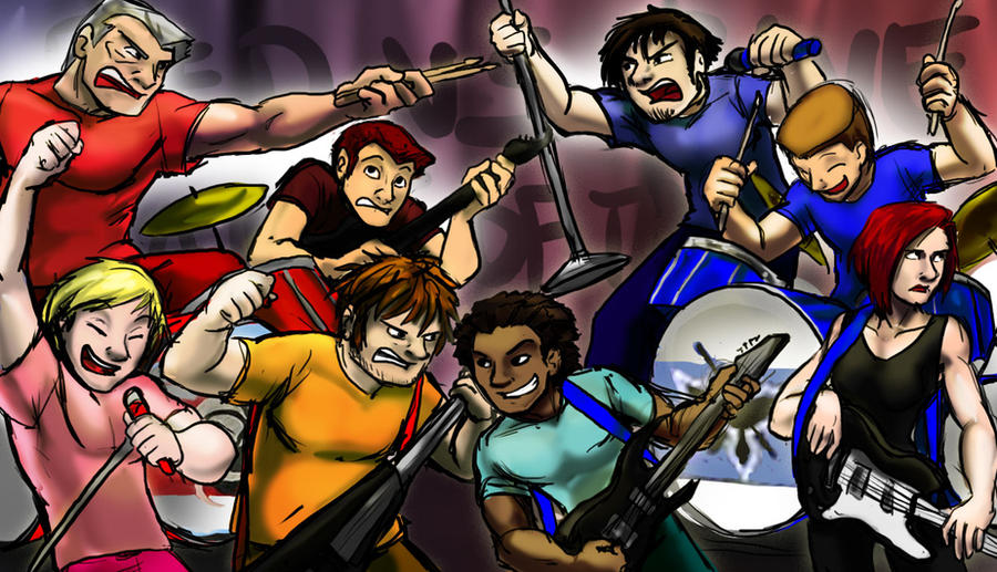 RvB Battle of the Bands by jameson9101322