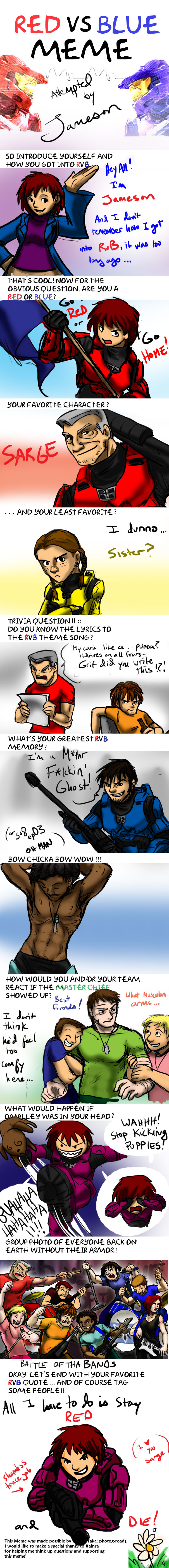 RvB meme by Jameson by jameson9101322