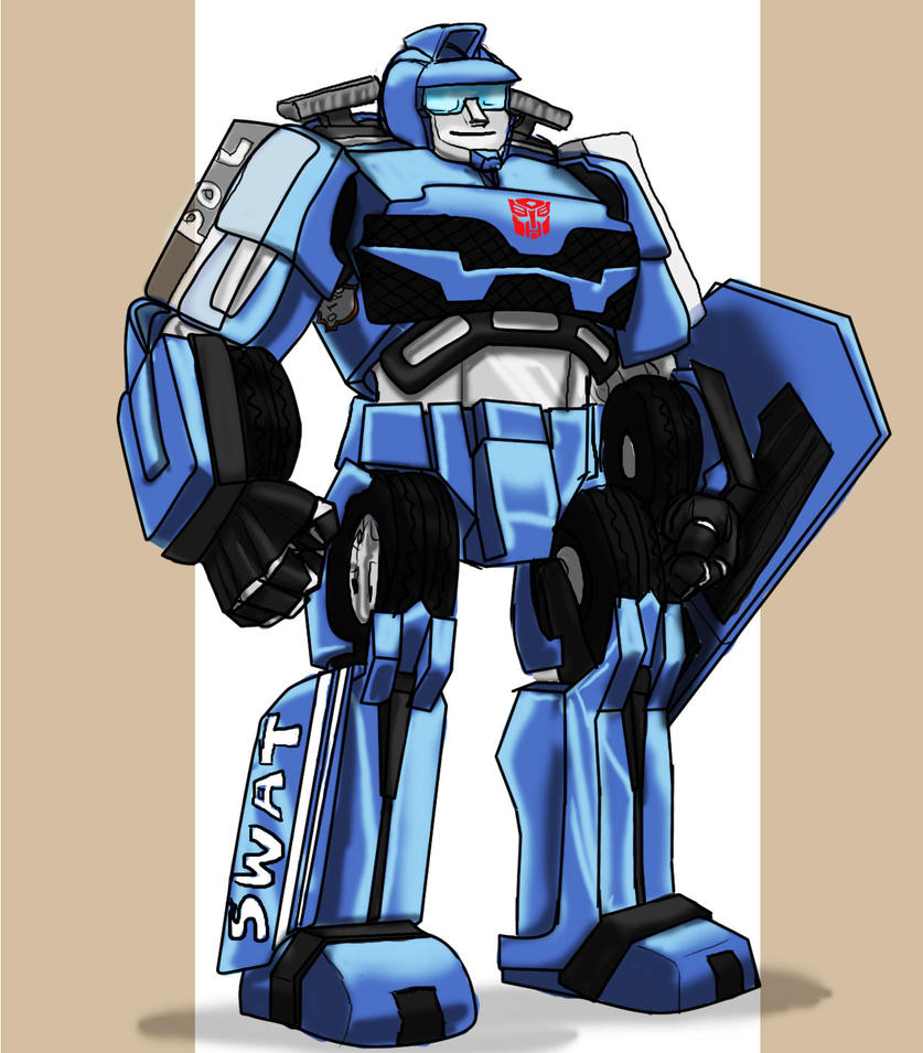 SWAT Autobot by jameson9101322